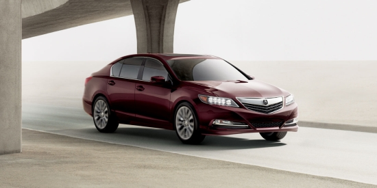 Acura's New RLX a Midsize Sedan Ace