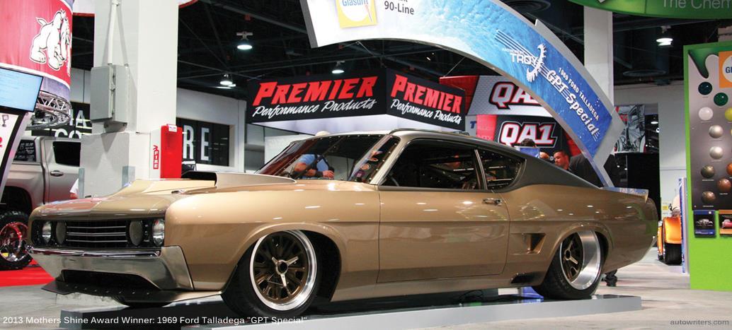 '69 Ford Torino Wins Mothers 2013 Shine Award at SEMA