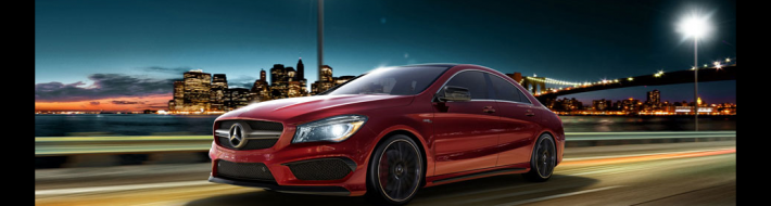 Mercedes Benz CLA Class 4 door coupe